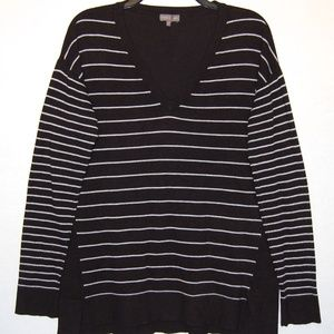 Vince Camuto striped oversized sweater